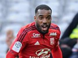 West Ham in discussion with striker Alexandre Lacazette as Hammers prepare to break their transfer record for Frenchman