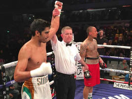 Vijender Singh records his 5th consecutive victory in Professional Boxing