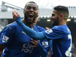 Manchester United 1-1 Leicester City: Wes Morgan cancels out Anthony Martial's opener but 10-man Foxes fail to seal title