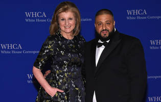 DJ Khaled Attends the White House Correspondents' Dinner With Arianna Huffington