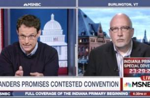 MSNBC's Kornacki to Sanders Campaign Manager: Aren't You Keeping Dems from Uniting?