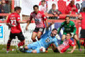 match analysis: exeter city held at home once more as season...