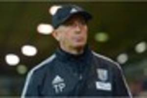 west bromwich albion boss rues missed chances during west ham...
