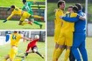 PHOTOS: Odd Down seal Toolstation League title with win at Welton...