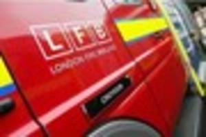 man suffers 'serious burns' in suspected gas explosion at flats...