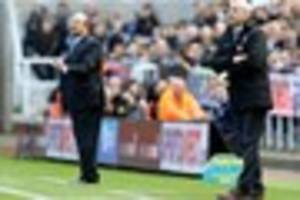 crystal palace boss thanks newcastle fans for 'respectful'...