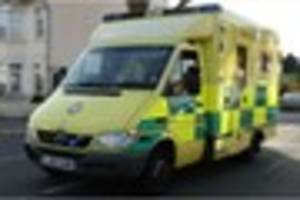elderly couple 'very lucky' after two-car collision on caterham...