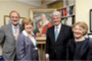 cambridge news published commissioned portrait is unveiled to former south cambs mp andrew...