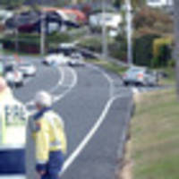 car hits power pole in taupo