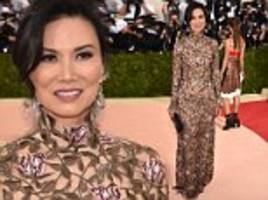 rupert murdoch's ex-wife wendi deng arrives at met gala alone in rare public appearance since rumors surfaced that she is dating vladimir putin