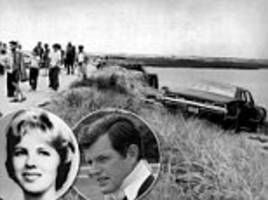 The crash that broke the Kennedy grip on the White House: Hollywood film to revisit events on Chappaquiddick in 1969 whichbrought Edward Kennedy's dream of becoming president to a shameful end