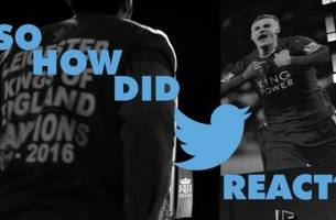 Social media reacts to Leicester City's title win