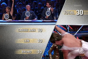 'Dancing With the Stars' Delivers a Double Elimination on Icons Night (Video)