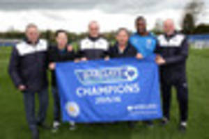 leicester city celebrate premier league title win - today's best...