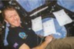major tim peake reveals the 'coolest' part of being in space so...