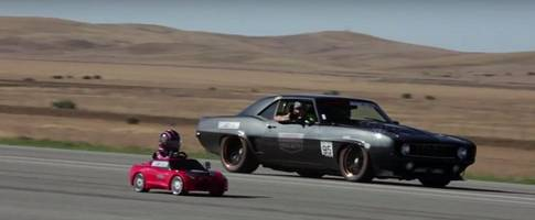 5-year-old girl drives first standing half-mile in her powerwheels corvette