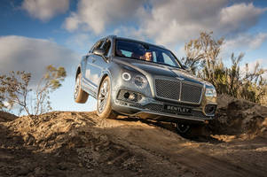 Set seat heaters to maximum! Check out Bentley's Bentayga app for the Apple Watch