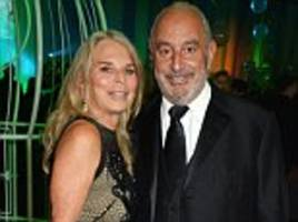 philip green's wife tina escapes quiz by mps over bhs millions