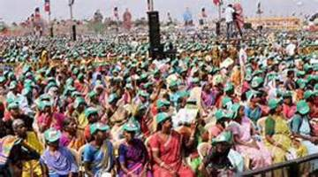 national leaders gear up for mega rallies in tamil nadu as campaigning hits fever pitch