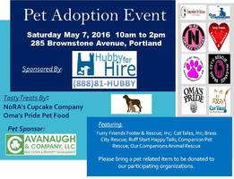 Pet Adoption Event Taking Place in Portland