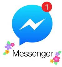 Facebook Messenger is decorating your chats with flowers for Mother's Day