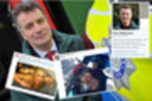 Deputy Crime Commissioner claims Twitter account has been hacked...