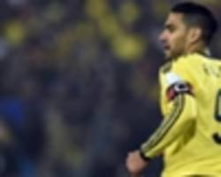 Falcao left out of Colombia's Copa America squad