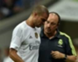 pepe: benitez told me i was not needed