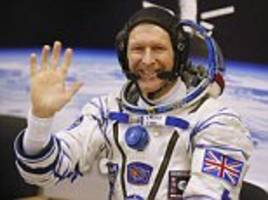 how tim peake feared being left in space by russia if relations with the west soured