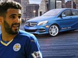 leicester city players to be rewarded with £32,670 mercedes after sealing unlikely premier league title win