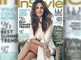 julia roberts looks half her age as she bares thigh on instyle cover