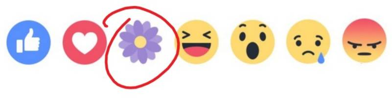 facebook tests its first new reaction just for mother's day