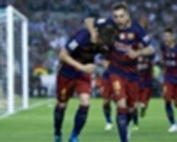 barcelona - espanyol preview: alba insists champions do not fear another derby defeat