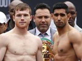 amir khan vs canelo alvarez: ricky hatton, kell brook and lennox lewis give verdicts ahead of wbc middleweight title bout