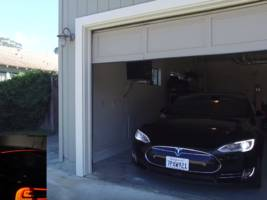 someone hacked a tesla model s so that it could be summoned using voice commands
