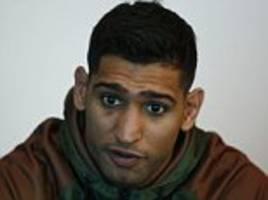 amir khan aiming for two big fights before retirement but he will never face kell brook
