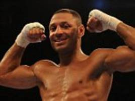 kell brook insists it would not be safe for amir khan to fight him after latest ko... 'i punch just as hard as saul canelo alvarez'