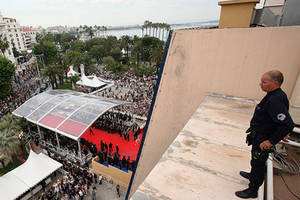 cannes organizers step up security, promise 'impenetrable bubble' around red carpet
