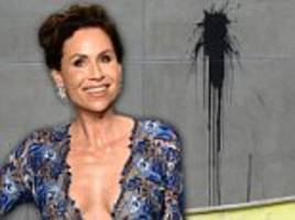 'england sent us some of their best but minnie driver they should have kept': owner of home allegedly defaced by actress shares photos of damage and details alleged feud