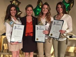 shoreham-wading river girl scouts honored for receiving gold award