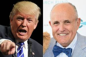 donald trump says rudy giuliani could be his anti-terrorism guru