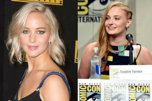 that time jennifer lawrence punched sophie turner in the vagina: 'it was pretty funny'