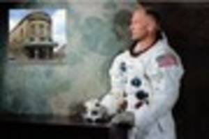 astronaut buzz aldrin to give talk in bath city centre venue the...