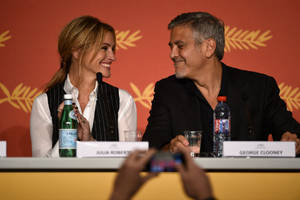 cannes report, day 2: julia roberts makes festival debut as 'money monster' falls short with critics