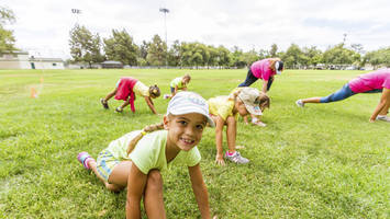gear up for the girl scouts' mighty girls healthy living expo