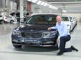 50,000th 'made-in-india' bmw rolls-out of bmw plant chennai
