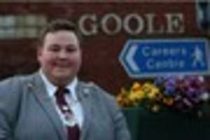 goole's new mayor terence smith is britain's youngest at just 19