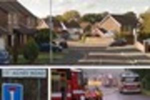 east grinstead house badly damaged in kitchen fire