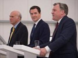 osborne mocks brexit supporters as loch ness monster 'conspiracy theorists' as he joins forces with old foe ed balls