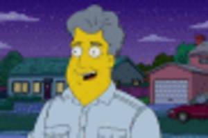 jay leno, citroen ds, morgan 3 wheeler guest star in the simpsons